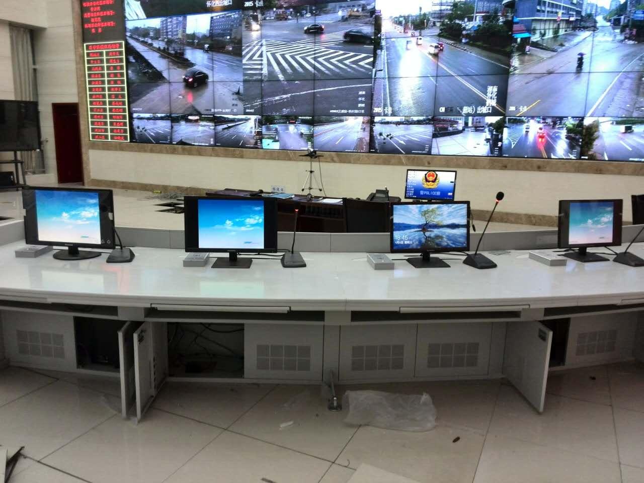 江西金徽达IP网络对讲系统走进怀化市公安局